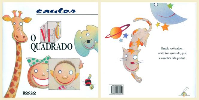 O Livro Quadrado - Editora Rocco - 2010