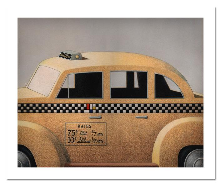 taxi para o museu 61x74